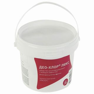 DEO / Disinfectant 300 g DEO-CHLORINE LUX, tablets 90 pcs.