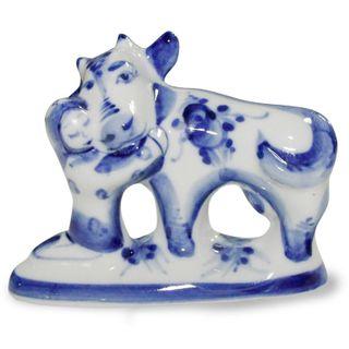 Sculpture havroshechka 1st grade, Gzhel Porcelain factory