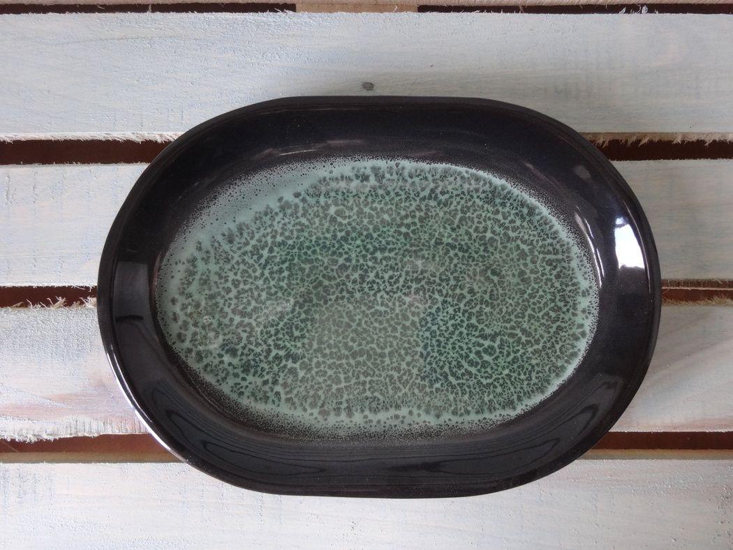 """Horex / Dish """"Verde Notte"""" oval 6 pcs."""