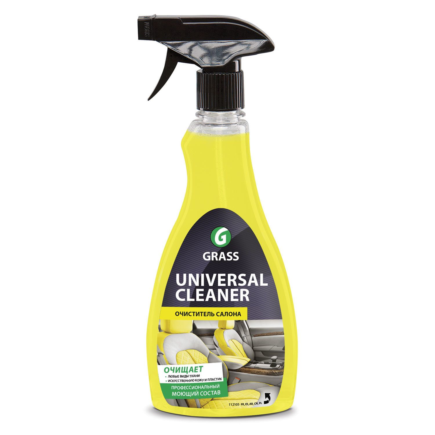 Tool for cleaning the interior GRASS 500 ml UNIVERSAL CLEANER for fabric, plastic, spray