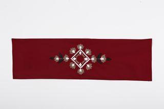 LA`AL Textiles/ Дорожка на кофе-столик, бордо (b)