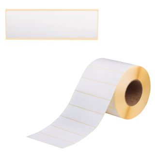 Label thermal transfer POLYPLANAR (140х42 mm), the sleeve 76 mm, 3000 labels per clip, with perforation