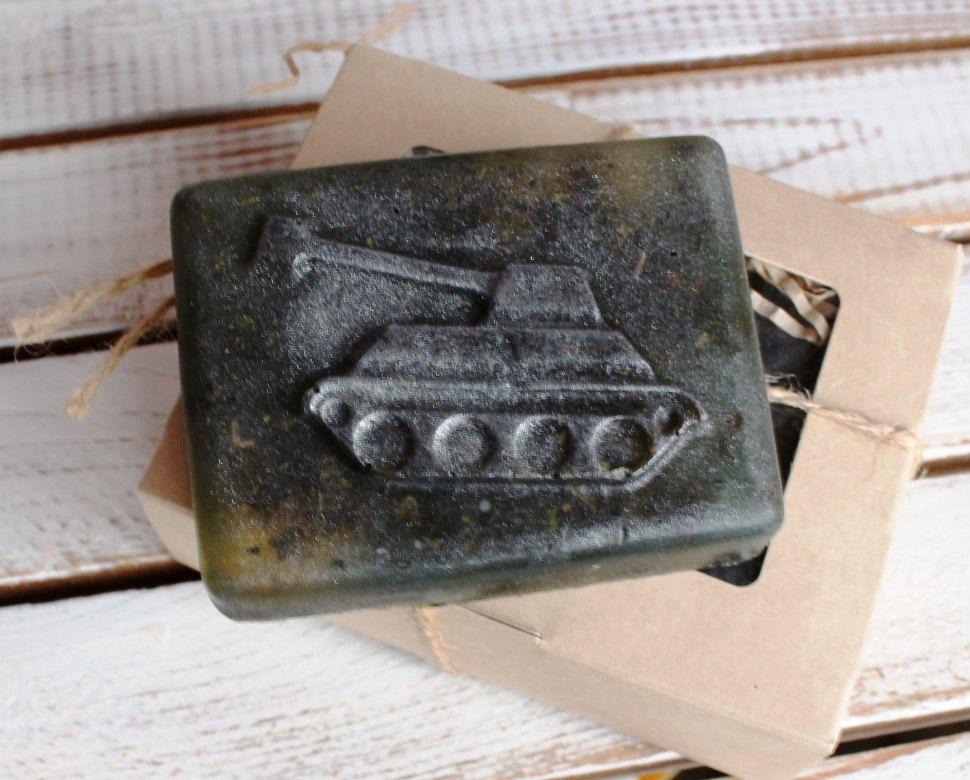 Herbal soap Tank
