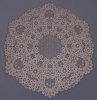 "Lace tablecloth ""Rowan"""