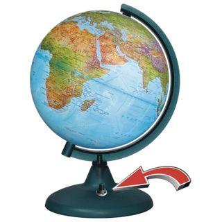 GLOBE WORLD / Globe physical / political diameter 210 mm, with battery backlight