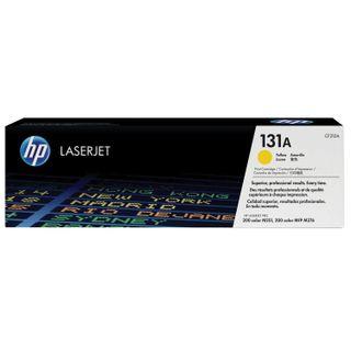 HP (CF212A) LaserJet Pro 200 M276n / M276nw Yellow Original Toner Cartridge, yield 1,800 pages