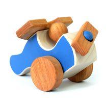 Airplane - developing children's transport wooden toy