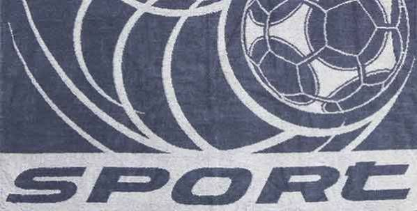 "Terry towel ""Ball"" size 90 * 50 jacquard"