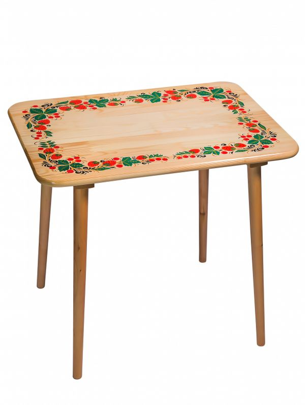 Table, wooden, cold-painted, life-sized 2 category