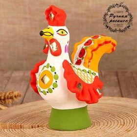 Dymkovo clay toy Cock