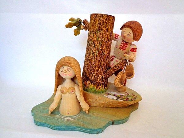 """Tver souvenirs / Composition """"Bather"""""""