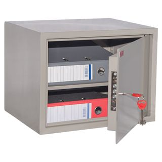 Cabinet metal for documents KBS-02, 320 x420 x350 mm, 12 kg, welded