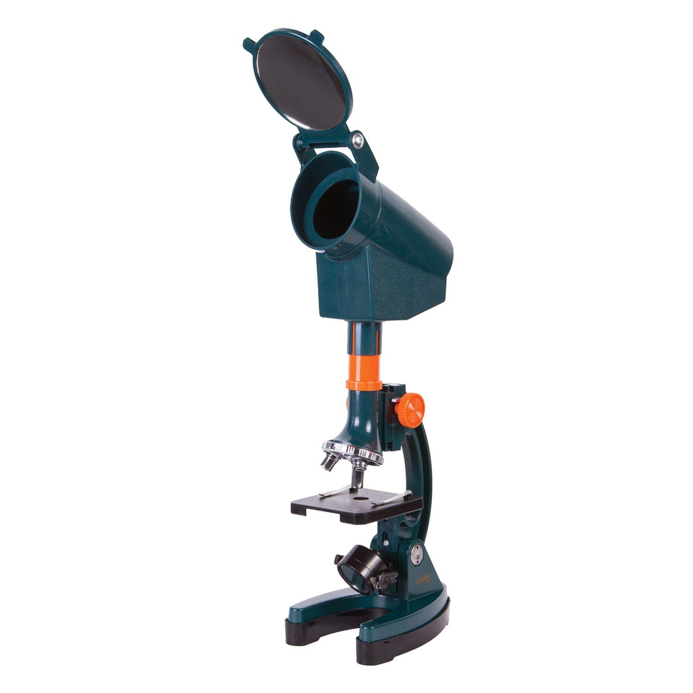 LEVENHUK / LabZZ M3 children's microscope, 300-1200x, monocular, 3 lenses, projector