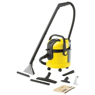 Vacuum cleaner KARCHER (KARCHER) SE 4002, the power consumption of 1400 W, yellow
