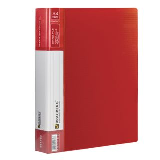 Folder on the 2 rings BRAUBERG