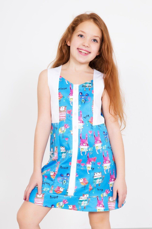 Lika Dress / Dress of the Bear-Bunny Art. 4346
