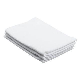 Bleached waffle towel, 40x80 cm, density 120 g / m2, set of 50 pieces,