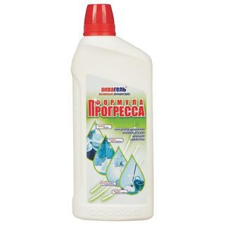 "Universal detergent ""FORMULA PROGRESS"" AQUAGEL concentrate 750 ml"