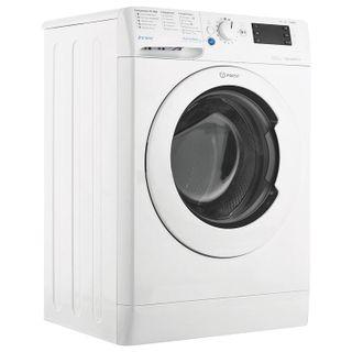 WASHING machine INDESIT BWSE81082LB, 1000 rpm, 8 kg, front loading,12 programs, 60 x47 x85 cm, white