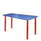 Children's table with adjustable height blue - вид 1