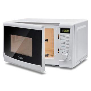 MIDEA AG820CWW-W microwave oven, 20 litres, 800 watt capacity, mechanical control