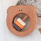 """Bug / Wooden rattle """"Brown Bear"""" - view 2"""