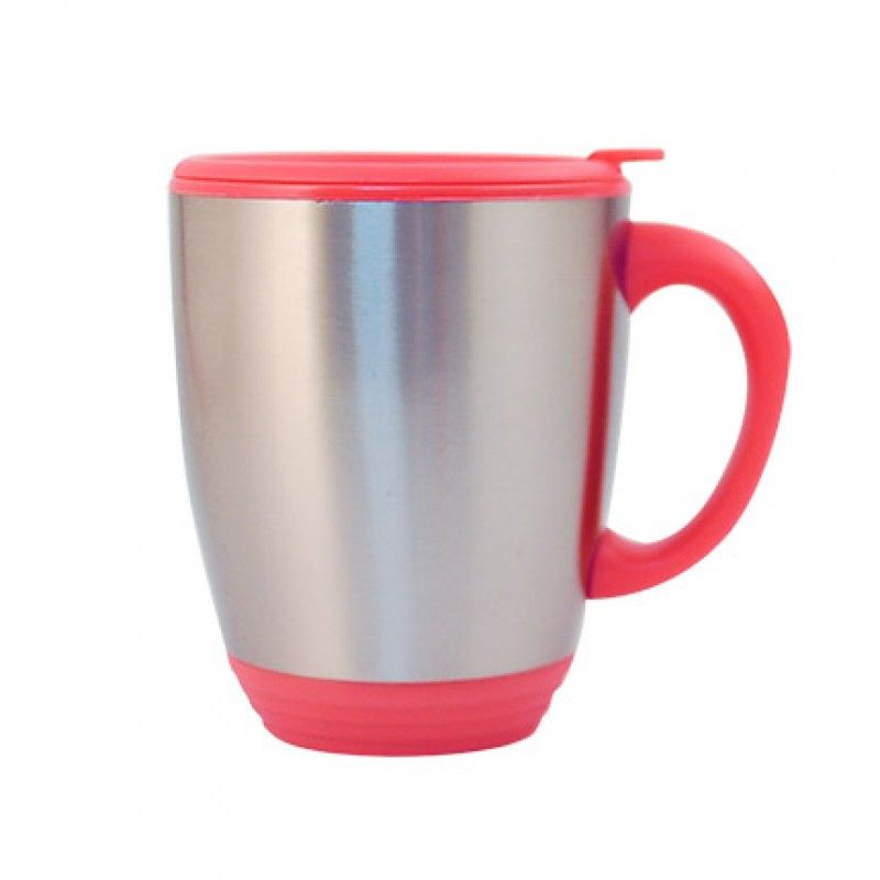 473ml stainless steel thermal round.