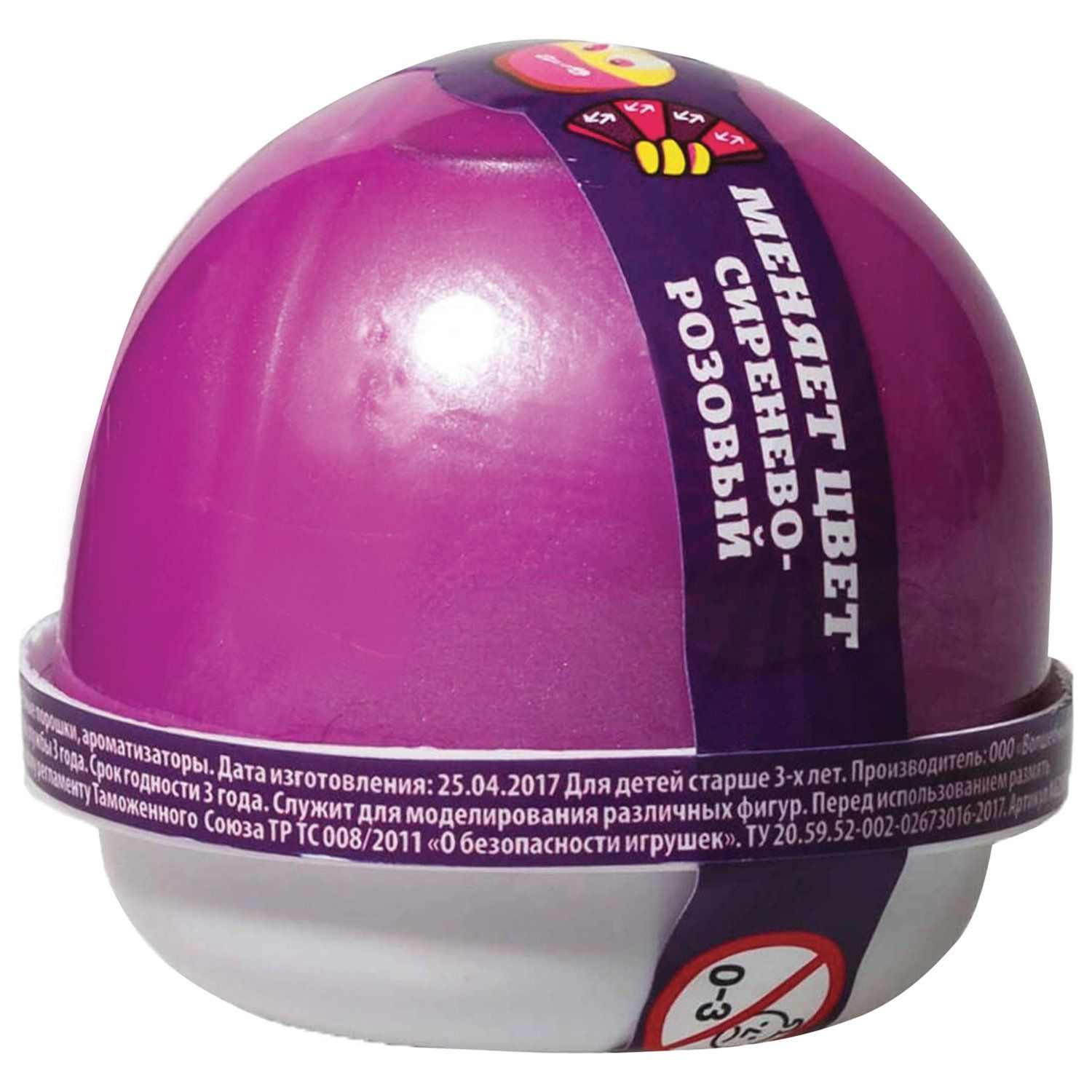 """""""Nano gum"""" hand gum, lilac, changes color to pink, 25 g, WORLD"""