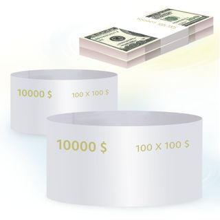 THE LATEST TECHNOLOGIES / Ring parcels, set of 500 pieces, denomination of 100 dollars