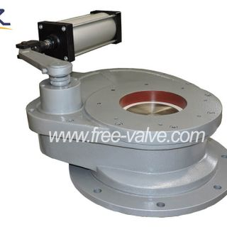 Ceramic Swing Disc charging gate Valve for fly ash system,Ceramic Rotary Discharging Gate Valve