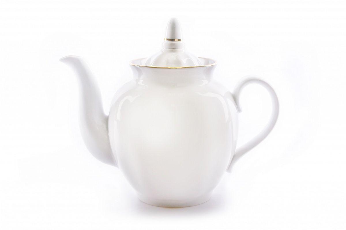 Dulevo Porcelain / Teapot 900 ml Pomegranate Gold Layering