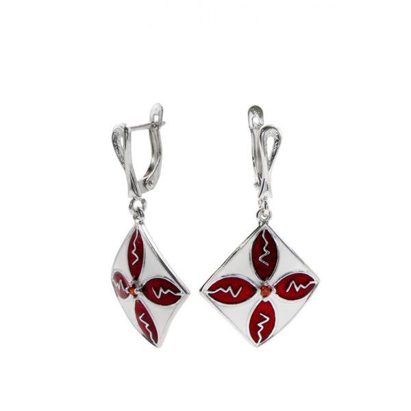 Earrings 30211 'Carré Et Croix'