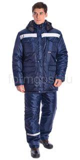 """Profi Plus"" jacket insulated, blue + blue"