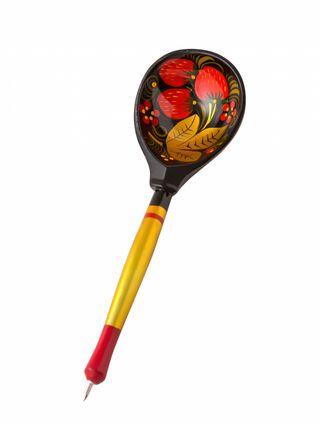 Spoon-wooden handle