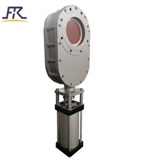 Pneumatic Ceramic Double Disc Gate Valve ,ceramic gate valve,pneumatic wearable ceramic double gate valve,Double Disc Ceramic Gate Valve,Ceramic pneumatic double disc gate valve