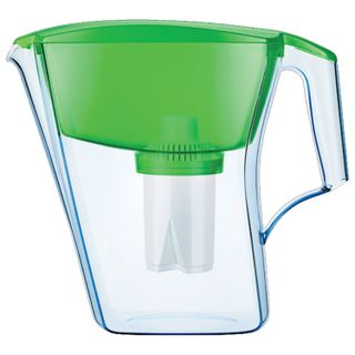 Water-cleaning jug AquaFOR Line, 2.8 litres, with interchangeable cassette, green