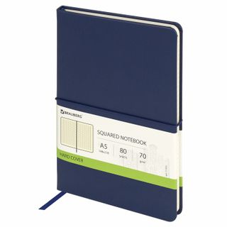 Notebook A5 (148x218 mm), BRAUBERG