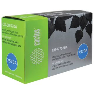 Toner cartridge CACTUS (CS-Q7570A) for HP LaserJet M5025 / M5035, yield 15,000 pages