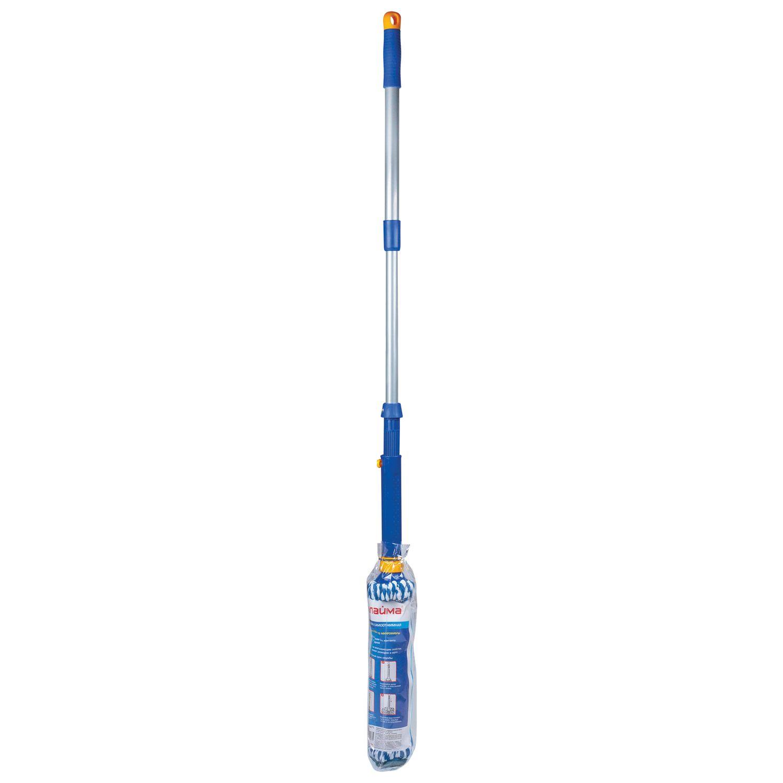 LIME / Self-wringing mop, twisting wringing, microfiber mop, telescopic handle 96 cm