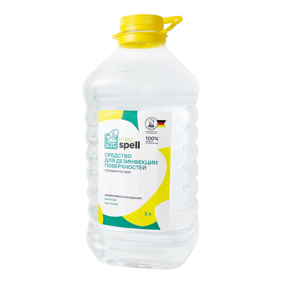 SPELL / Surface disinfectant 3 l, pack of 4