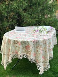 Nice lace tablecloth