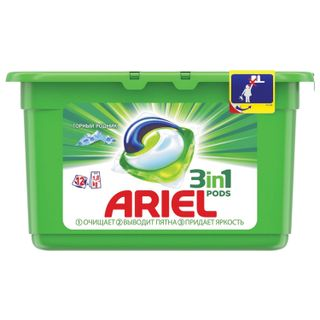 The remedy for washing in capsules 12 pieces of 28.8 g ARIEL (Ariel)