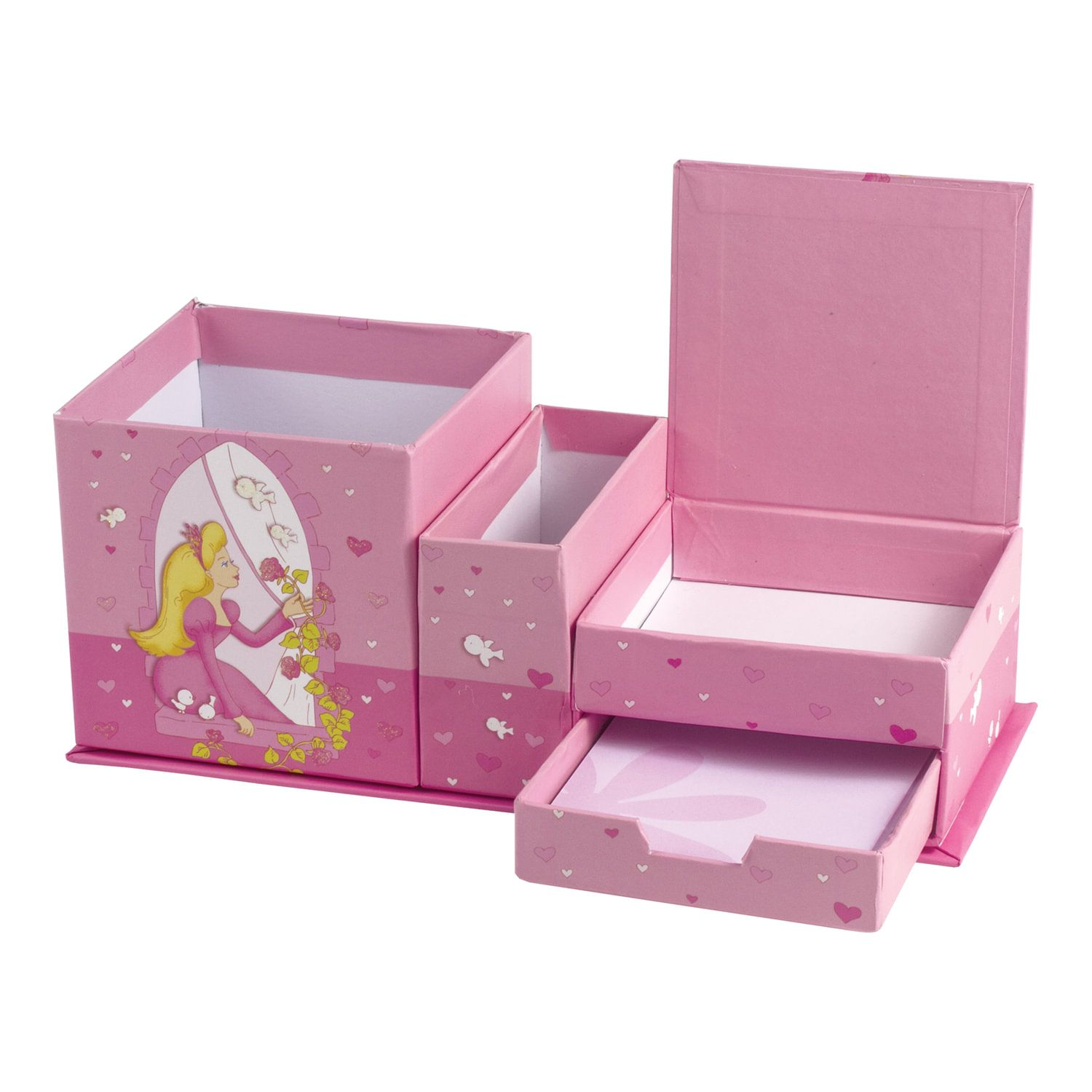 """BRAUBERG / Notepad """"Princess"""" SMALL FORMAT 56 sheets A6, 110x150 mm, hardcover, photo frame + writing block, gift wrapping, line"""