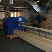 Glued timber for the production of windows