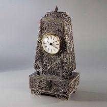"Kazakovskaya Filigree / Clock ""Fireplace"""