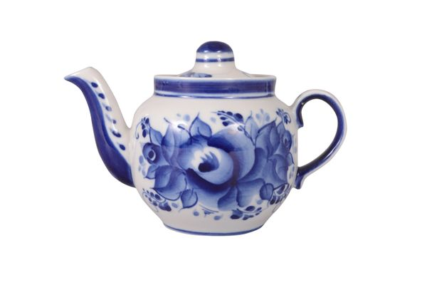 Dulevo porcelain / Teapot 350 ml Amber Rose