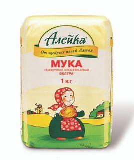 """Wheat flour """"Aleika"""", baking variety, """"Extra"""""""