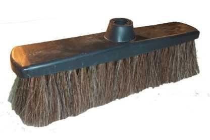 Torzhok Brush Factory / C2 floor brush made of natural horsehair, with thread / 280/4