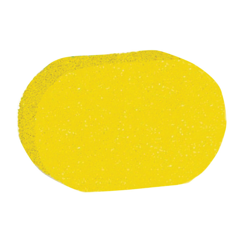 "Sponge scrubber, foam rubber, 9 g (4x9.5x14 cm), assorted, ""Oval"", TIAMO ""Original"""