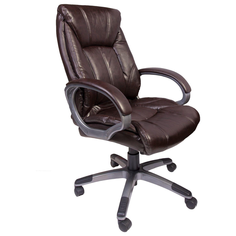 """Brabix """"Maestro EX-506"""" office chair, eco-crop, brown"""